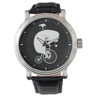 ヴィンテージのバイクのクジラ 腕時計