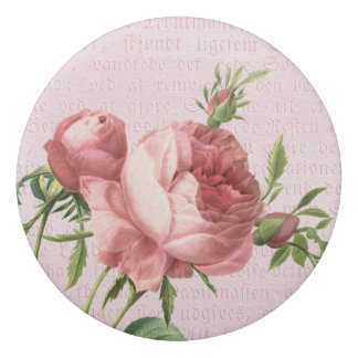 ヴィンテージのバラのフェミニンな花の消す物 消しゴム