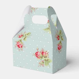 ヴィンテージのバラの好意箱の壁紙のプリント フェイバーボックス