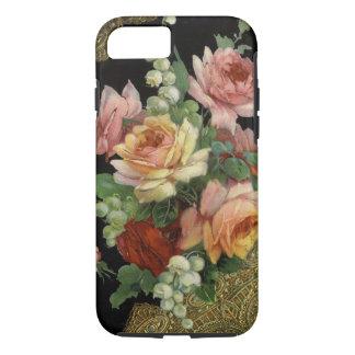 ヴィンテージのバラ iPhone 7ケース
