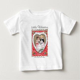 ヴィンテージのバレンタインの写真 ベビーTシャツ
