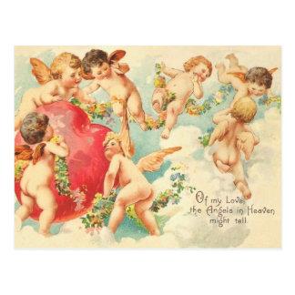 ヴィンテージのバレンタインの郵便はがき はがき