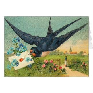 ヴィンテージのバレンタインデーカード カード