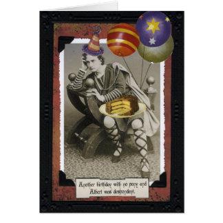 ヴィンテージのバースデー・カード-アルバート カード
