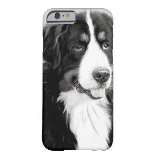 ヴィンテージのバーニーズ・マウンテン・ドッグのiPhoneの場合 iPhone 6 ベアリーゼアケース