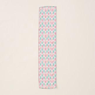 ヴィンテージのパイナップルパターン スカーフ