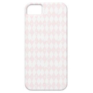 ヴィンテージのパステル調ピンクのダイヤモンドのiPhone 5/5sの場合 iPhone SE/5/5s ケース