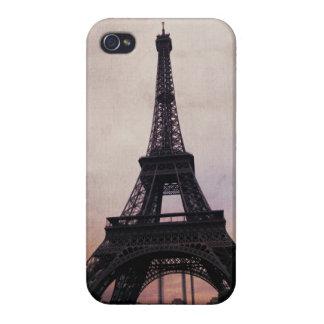ヴィンテージのパリのiphone 4ケース iPhone 4 case