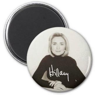 ヴィンテージのヒラリー・ロッドハム・クリントンの署名の磁石 マグネット