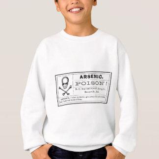 ヴィンテージのヒ素の毒ラベル スウェットシャツ