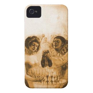 ヴィンテージのビクトリアンで低俗なスカルの目の錯覚 Case-Mate iPhone 4 ケース