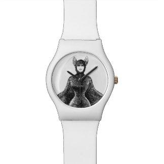 ヴィンテージのビクトリアンなこうもりの女性の腕時計 腕時計