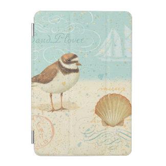 ヴィンテージのビーチ場面 iPad MINIカバー