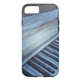 ヴィンテージのピアノキーボードのiPhone 7の場合 iPhone 8/7ケース