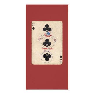 ヴィンテージのピエロカード カード