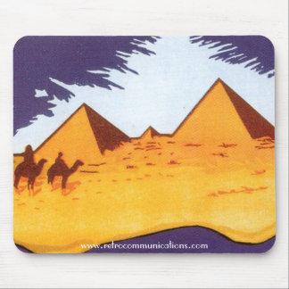 ヴィンテージのピラミッドのマウスパッド マウスパッド