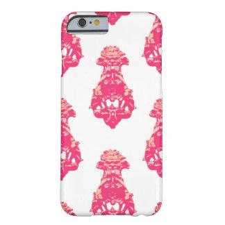 ヴィンテージのピンクかサーモンピンク色の背景 BARELY THERE iPhone 6 ケース