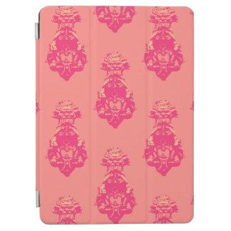 ヴィンテージのピンクかサーモンピンク色の背景 iPad AIR カバー