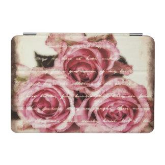 ヴィンテージのピンクのバラ iPad MINIカバー