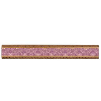 ヴィンテージのピンクパターン 定規