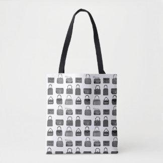 ヴィンテージのファッションのハンドバッグパターントートバック トートバッグ