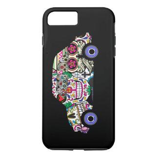 ヴィンテージのフィアットの電話箱 iPhone 8 PLUS/7 PLUSケース