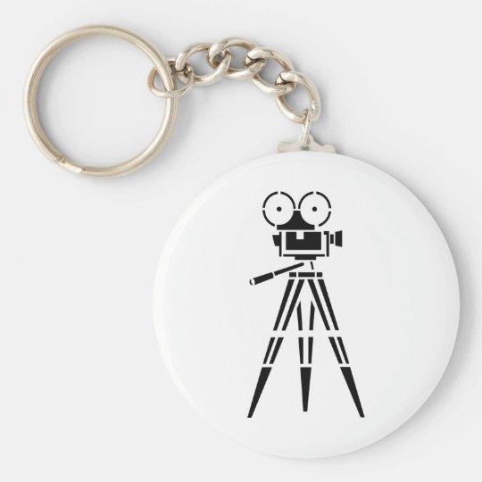 ヴィンテージのフィルムの映画のセットのカメラ キーホルダー