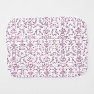 ヴィンテージのフィレンツェのダマスク織(ピンク) バープクロス