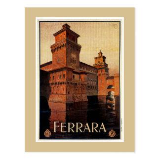 ヴィンテージのフェラライタリアンな旅行ポスター ポストカード