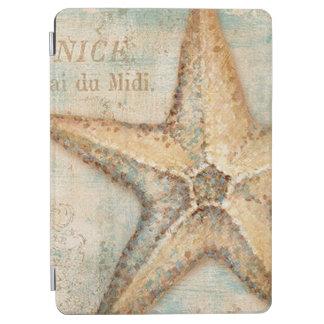 ヴィンテージのフランスのなヒトデの芸術 iPad AIR カバー