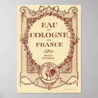 ヴィンテージのフランスのな国の広告のラベルのフランスポスター ポスター