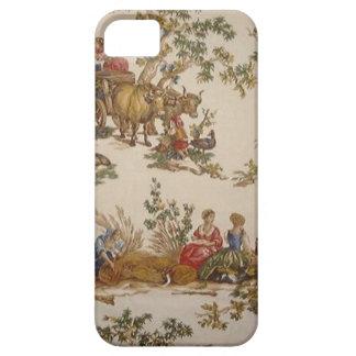ヴィンテージのフランスのな国のToileのiPhone 5の場合 iPhone SE/5/5s ケース