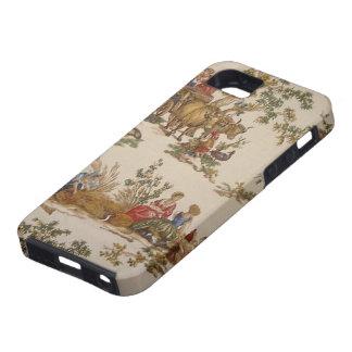 ヴィンテージのフランスのな国のToileのiPhone 5のVibeの場合 iPhone SE/5/5s ケース