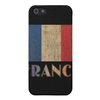 ヴィンテージのフランスの旗 iPhone 5 CASE