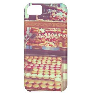 ヴィンテージのフランスのmacaroonの店 iPhone5Cケース