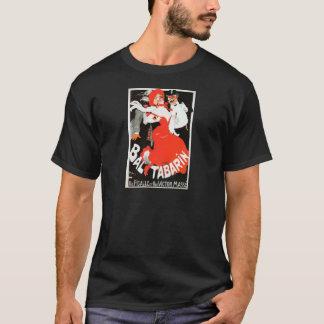 ヴィンテージのフランス人のパリのナイトライフのキャバレーBal Tシャツ