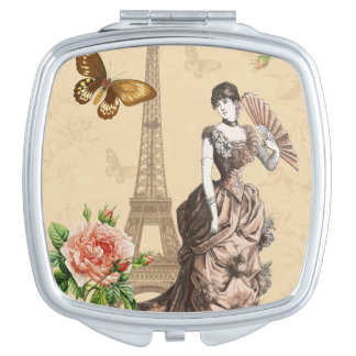 ヴィンテージのフランス人のファッションのエレガントな鏡