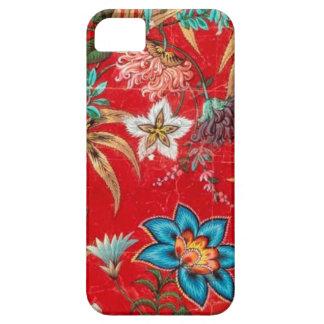 ヴィンテージのフランス人の織物 iPhone SE/5/5s ケース