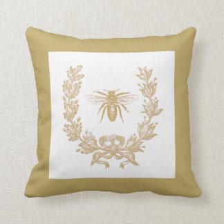 """ヴィンテージのフランス語はw/Bee 20x20の""""枕きのこ包みます クッション"""