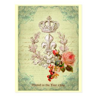 ヴィンテージのフランス語 ポストカード
