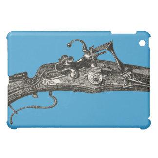 ヴィンテージのフリントロック式のライフル銃のAppleのiPad Miniケース iPad Miniケース