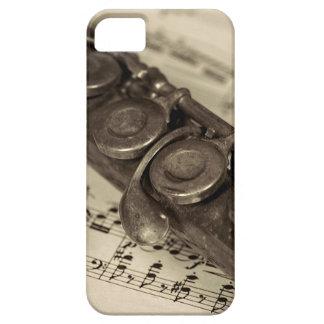ヴィンテージのフルート iPhone SE/5/5s ケース