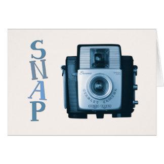 ヴィンテージのブラウニーのカメラ カード