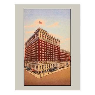 ヴィンテージのブラウンのホテル(ルーイスビル、ケンタッキー) ポストカード