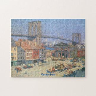 ヴィンテージのブルックリン橋のジグソーパズルのギフト用の箱 ジグソーパズル