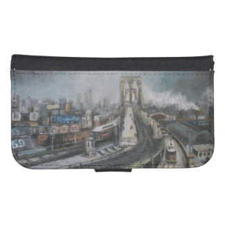 ヴィンテージのブルックリン橋ニューヨーク