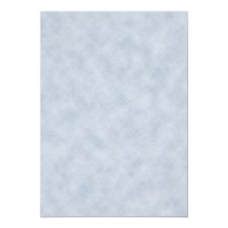 ヴィンテージのブルーグレーの羊皮紙の一見の質 カード