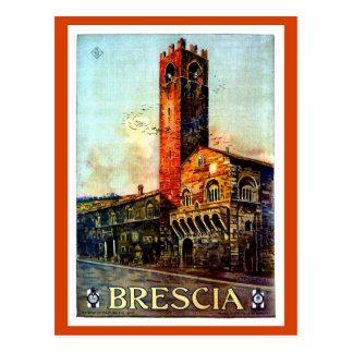 ヴィンテージのブレシアイタリアンな旅行1910年代の20年代 ポストカード