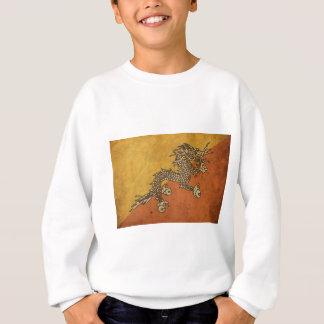 ヴィンテージのブータンの旗 スウェットシャツ