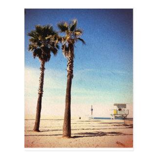 ヴィンテージのベニスのビーチ ポストカード